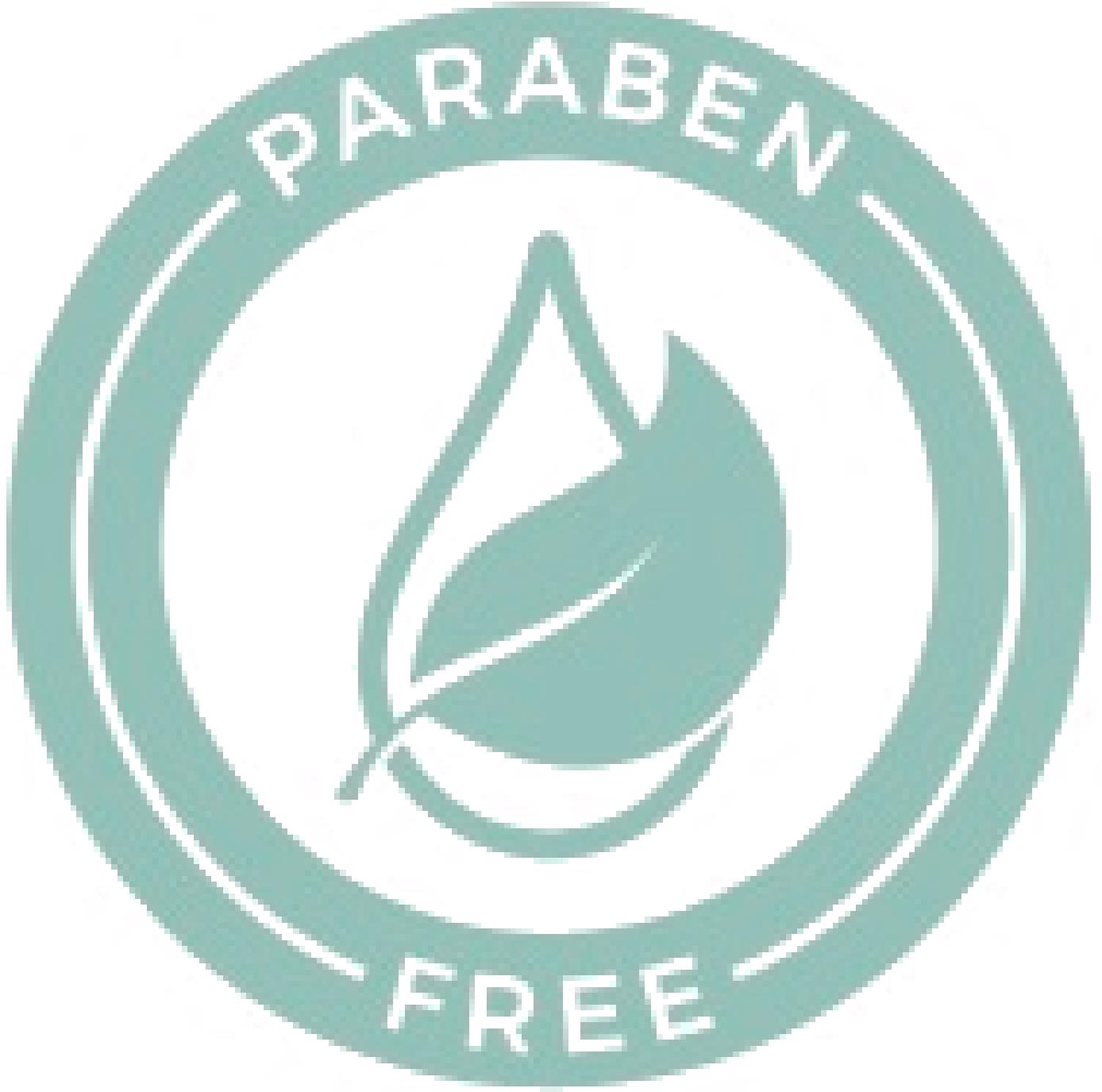 Green Paraben Free certificate symbol